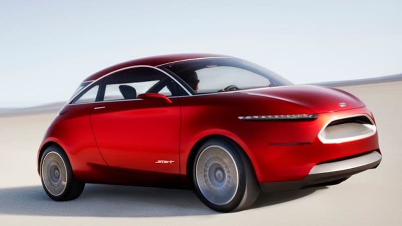 Ford Start Concept Busts Out Of Beijing Autoblog