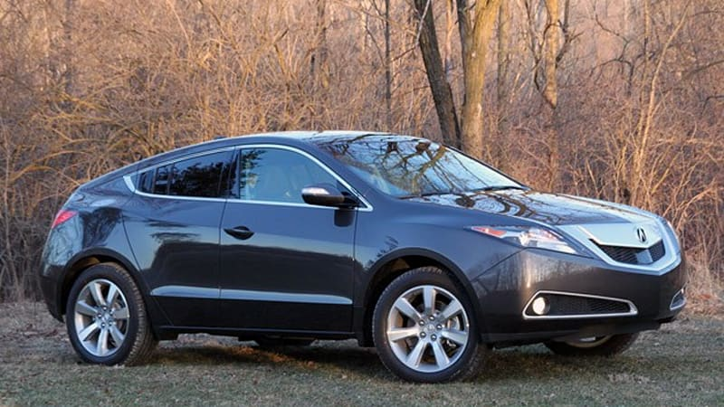 Review Acura Zdx Is A Space Challenged Oddity Autoblog