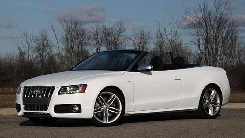 Review 2010 Audi S5 Cabriolet Speaks Too Softly But Carries A Stick Autoblog