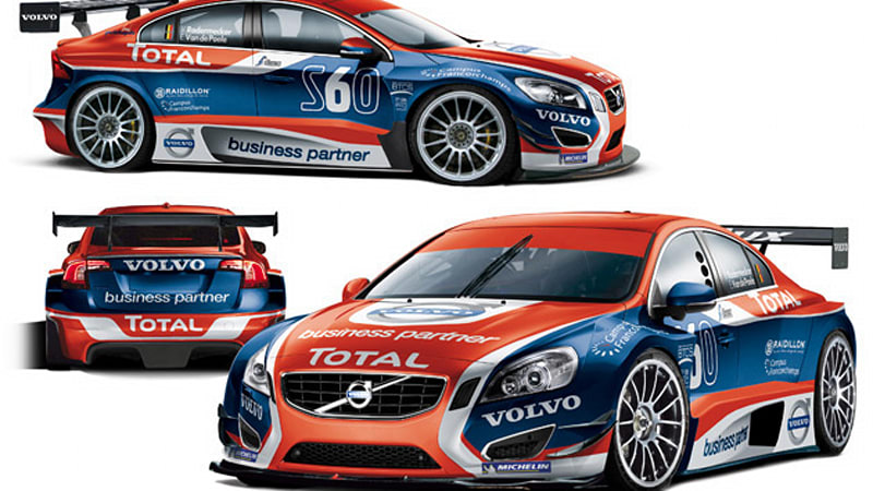 0f5f49ec32 Volvo prepping new S60 for Belgian Touring Car series duty - Autoblog