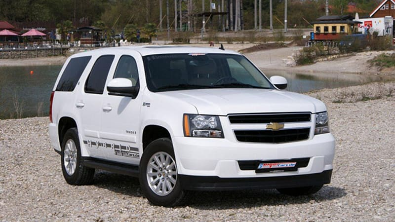 Geigercars Turns Tuning Efforts To Chevy Tahoe Hybrid
