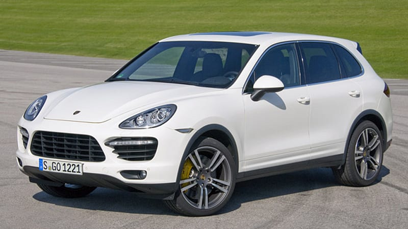 First Drive  Porsche Cayenne Turbo Sheds  Twinkies And It Shows