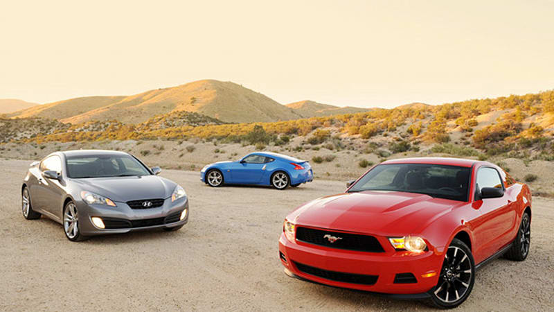 Battle Of The Sixes Ford Mustang V Takes On Hyundai Genesis - Sports car comparison