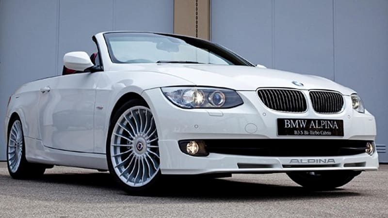 Mph Alpinafettled BMW Series Goes On Sale In UK Autoblog - Bmw 3 series alpina for sale