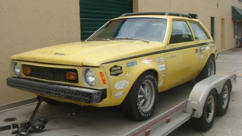 Ebay find of the day hydrogen powered 1972 amc gremlin by george 1972 hydrogen powered amc gremlin click above for high res image gallery sciox Image collections