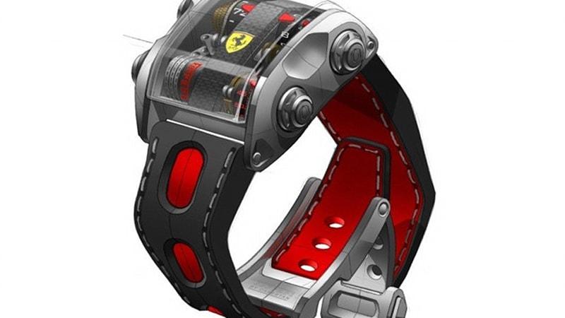 1bd31a5c3 Scuderia One by Cabestan: Ferrari watch for Ferrari owners - at a Prancing  Horse price - Autoblog