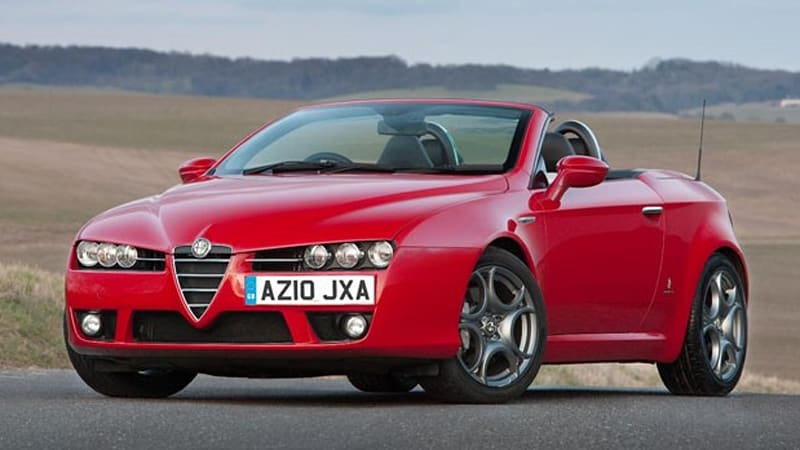 Alfa Romeo Updates Brera Spider With New Engines Trim Autoblog - Alfa romeo spider new model