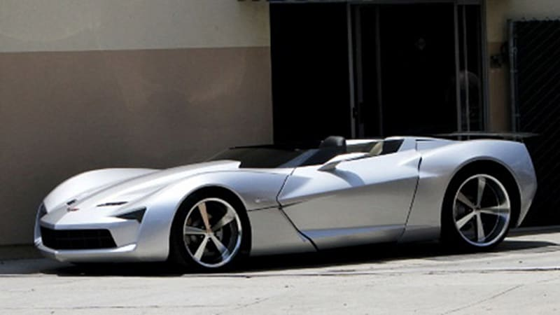 Corvette Stingray Concept Loses Its Top Autoblog