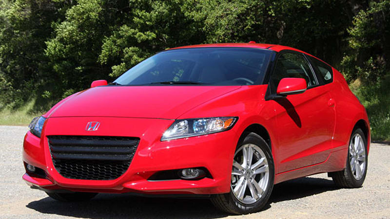 honda cr z returns rather disappointing 35 3 mpg during