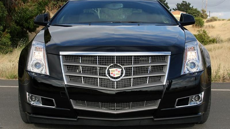 Drop Top Customs readying Cadillac CTS convertible  Autoblog