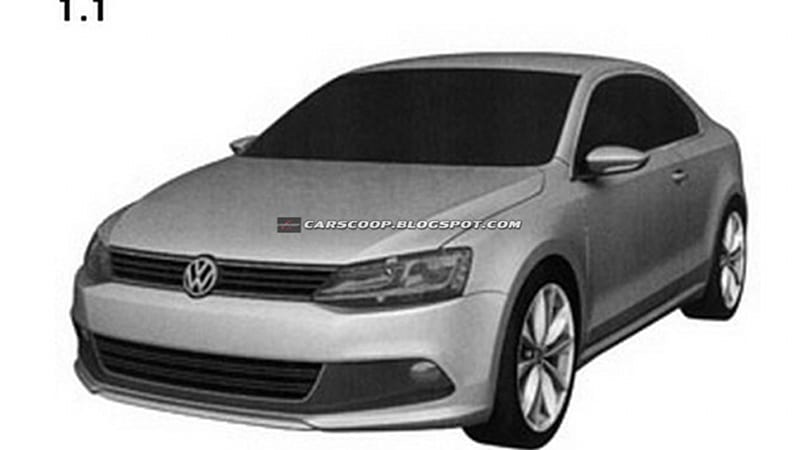 Patents Filed For Volkswagen Jetta Coupe