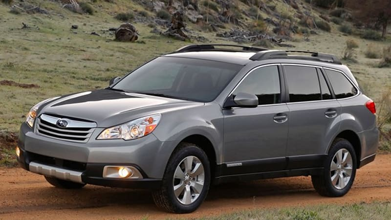 Subaru recalling nearly 74,000 2010 Outback and Legacy