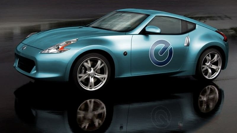 Nissan Is Reportedly Considering Building A Sports Car Based On The Electric  Drive Hardware From Its New Leaf EV. From A Business Perspective, ...