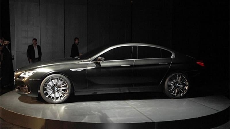 BMW reportedly green-lights 6 Series Gran Coupé concept for ...