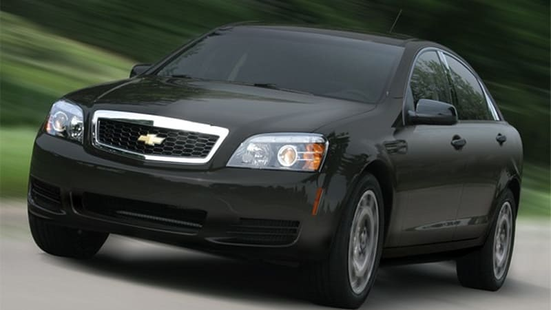 2011 Chevrolet Caprice Ppv Detective Package Details Uncovered