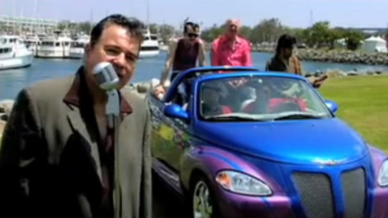 Video: Chrysler PT Cruiser production ends today, Sha Na Na sends it out with a song