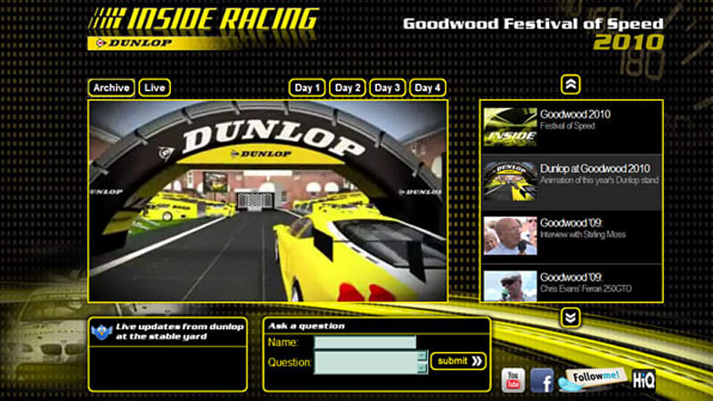 Video Live Stream From Goodwood Autoblog