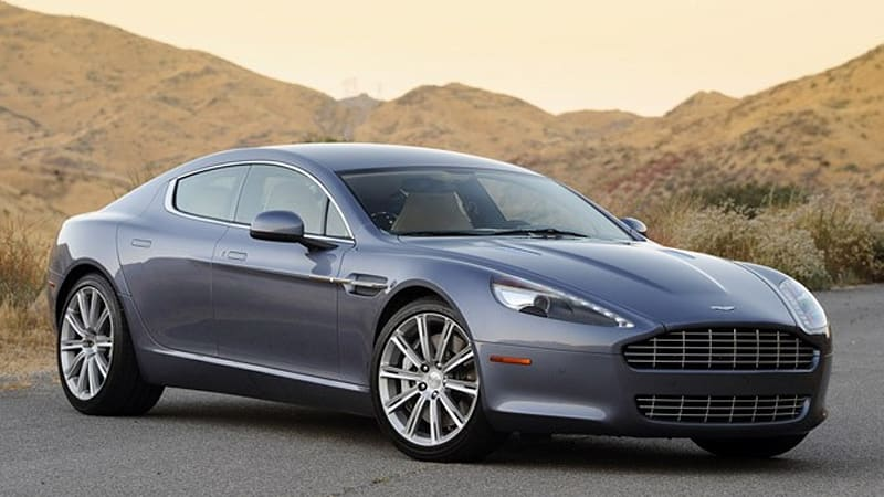 Review: 2010 Aston Martin Rapide is a modern day Femme Fatale - Autoblog