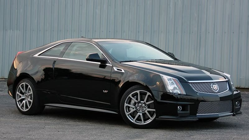 First Drive 2011 Cadillac Cts V Coupe Is Angular Unhinged Glory Autoblog
