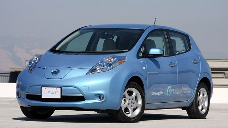 Unofficial Nissan Leaf Does 0 60 Mph In 7 Seconds Tops Out At 94