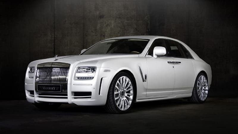 Rolls-Royce White Ghost shows Mansory at its most ...