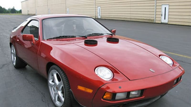 eBay Find of the Day: Turbine-powered 1982 Porsche 928 spits flames