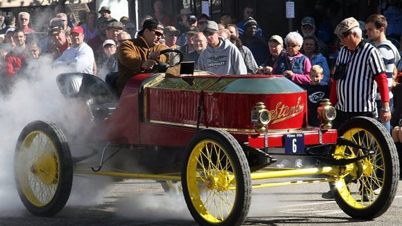 Stanley Steamer Car >> Jay Leno S Best Speeding Story Is Better Than Yours Autoblog