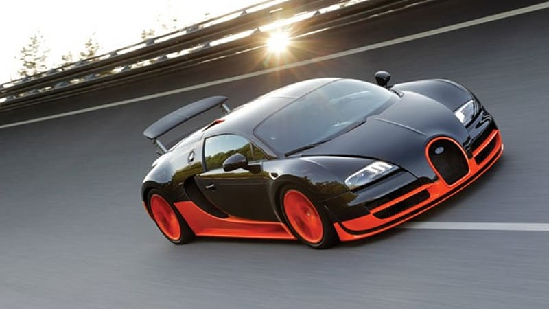 Bugatti Veyron 16 4 Super Sport Sets Land Speed Record At 267 81 Mph