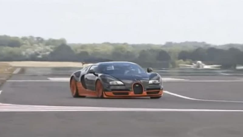 video bugatti veyron ss takes on top gear test track at hands of the stig autoblog. Black Bedroom Furniture Sets. Home Design Ideas