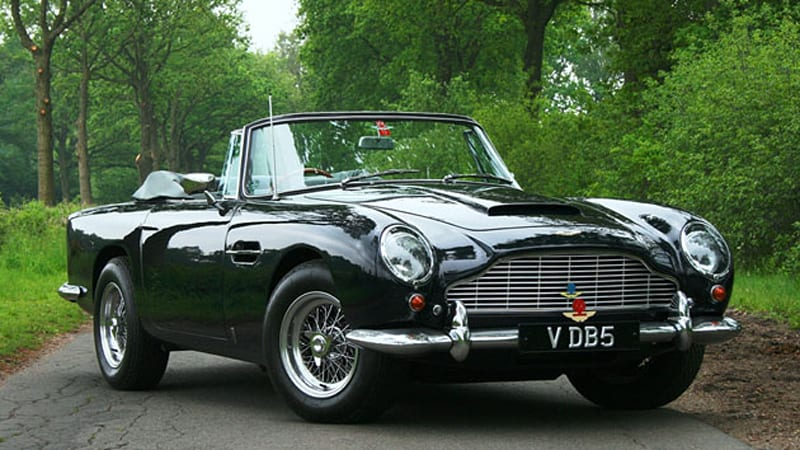 Rare Aston Martin DB Convertible Drives Million In Sales At - Old aston martin for sale
