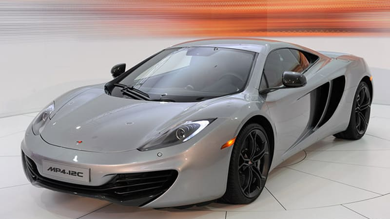 the mac is back: getting intimate with the mclaren mp4-12c - autoblog