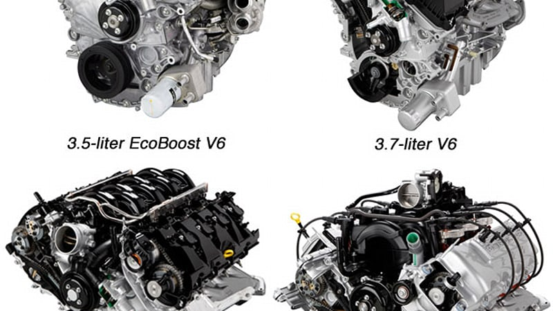 The Ford F 150 Is Getting A Lineup Of Four All New Engines For 2017 Model Year That Includes Two V6s And V8s According To Entire