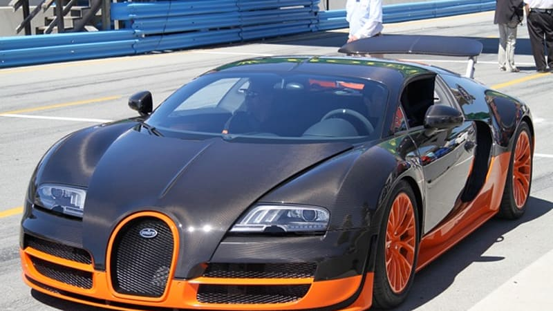 Bugatti Veyron Super Sport's top speed will be 10 mph less than ...