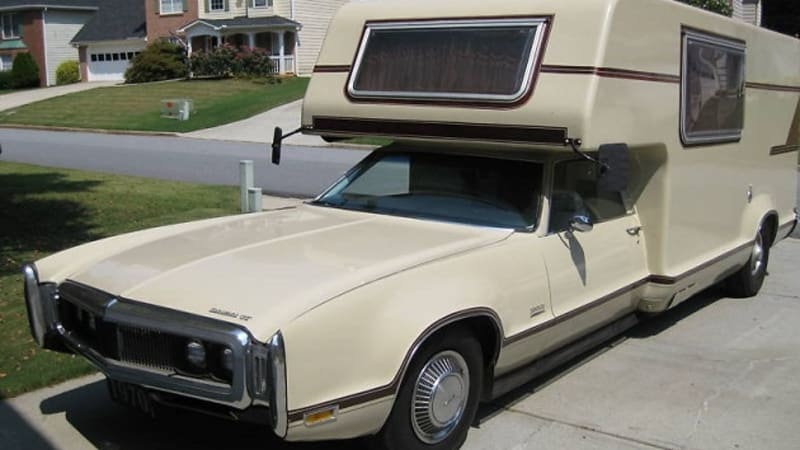 Ebay Find Of The Day 1970 Oldsmobile Toronado Gt Surprisingly Awesome As Camper Autoblog