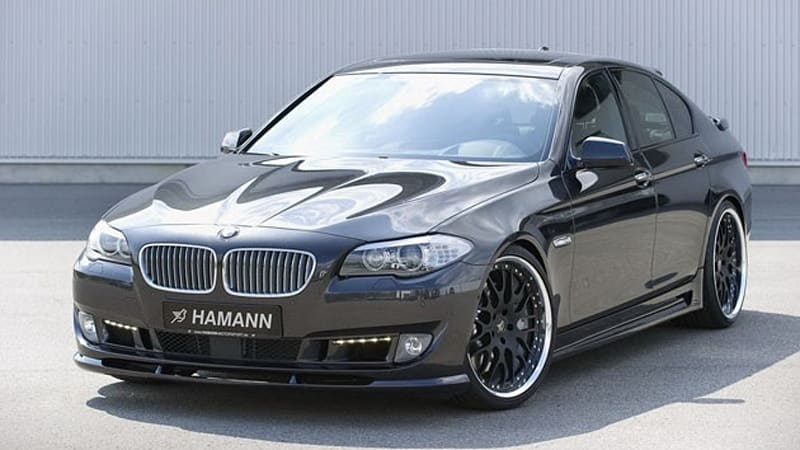 Hamann Fills The Gap To The Next M5 With Custom Bmw 5 Series Autoblog