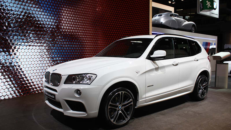 BMW Announces Pricing For 2011 X3