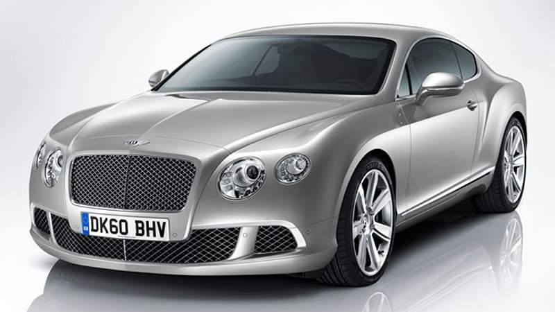 2011 Bentley Continental Gt Arrives With New Design Optional V8