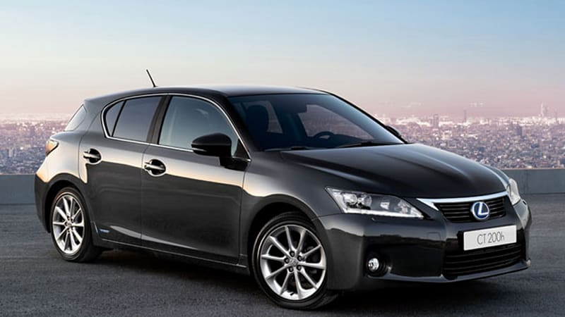 Report Lexus Snuffs Out Rumors Of Coupe Wagon Version Ct 200h Hybrid