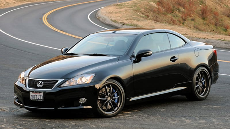 lexus is coupe could come as early as 2012 autoblog. Black Bedroom Furniture Sets. Home Design Ideas