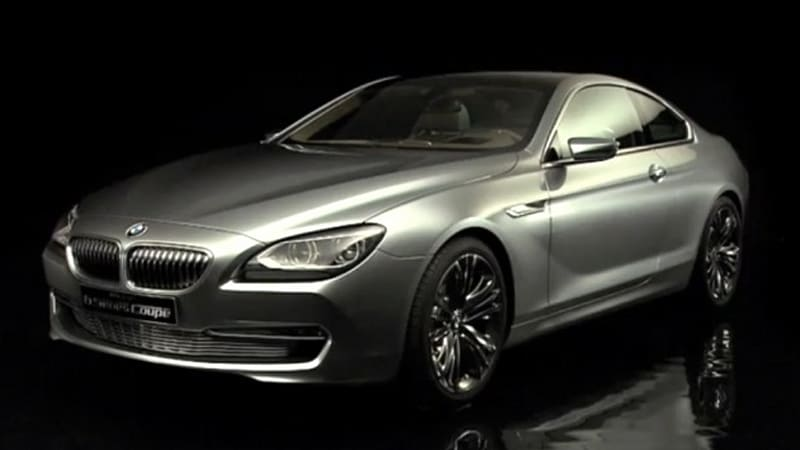 Video: BMW 6 Series Coupe Concept rendered for your pleasure - Autoblog