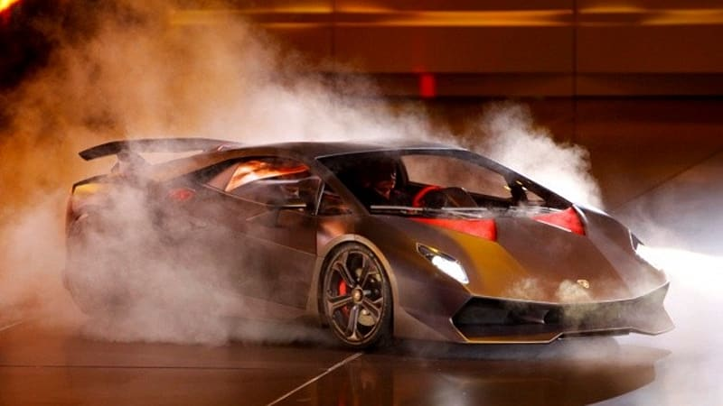 Paris 2010 Lamborghini Sesto Elemento Concept Lights Up The Stage