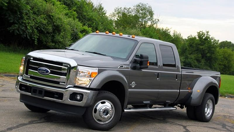 Review: 2011 Ford F-450 Lariat - Autoblog