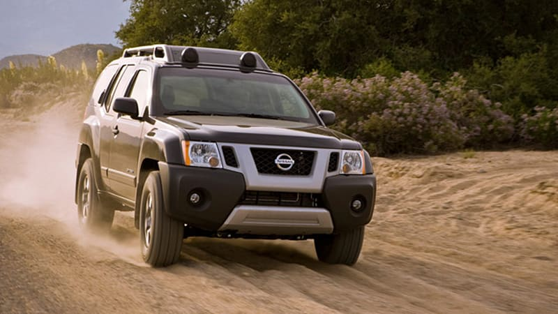 2011 Nissan Xterra, Pathfinder, Frontier and Altima pricing