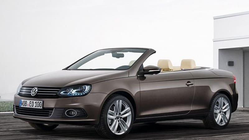 volkswagen eos updated with gti engine crisper looks autoblog rh autoblog com 2012 Volkswagen EOS Black 2012 vw eos owners manual