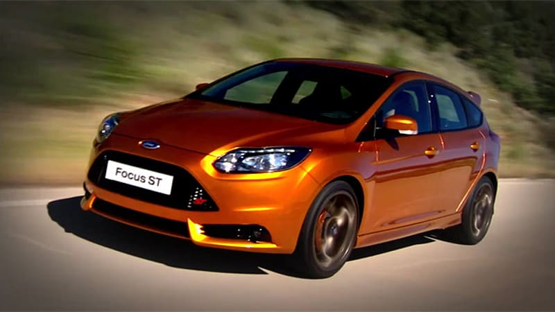 Video 2012 Ford Focus St Hits The Road Autoblog