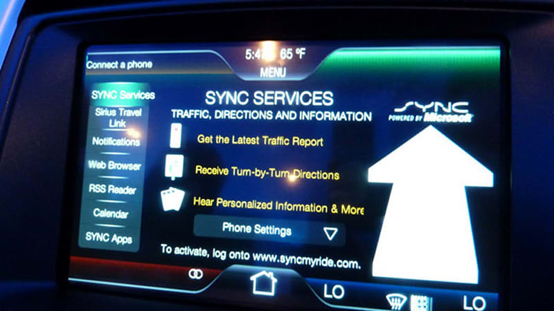 Ford S Sync Now In Three Million Vehicles And Counting Autoblog