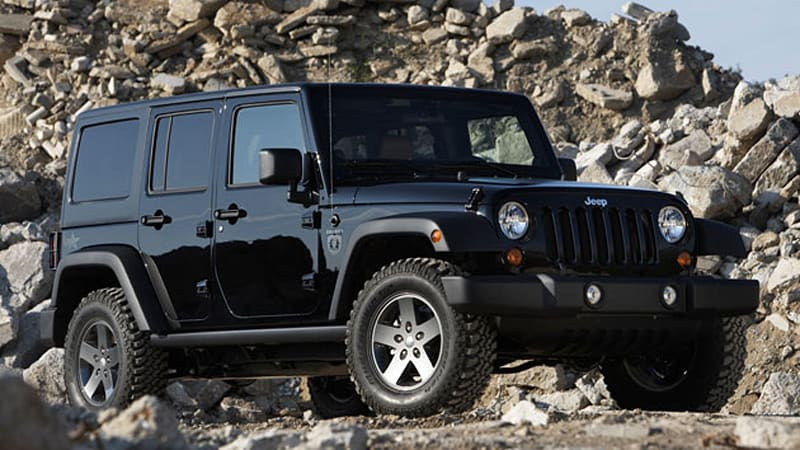 2011 Jeep Wrangler Call of Duty: Black Ops Edition ready to frag ...
