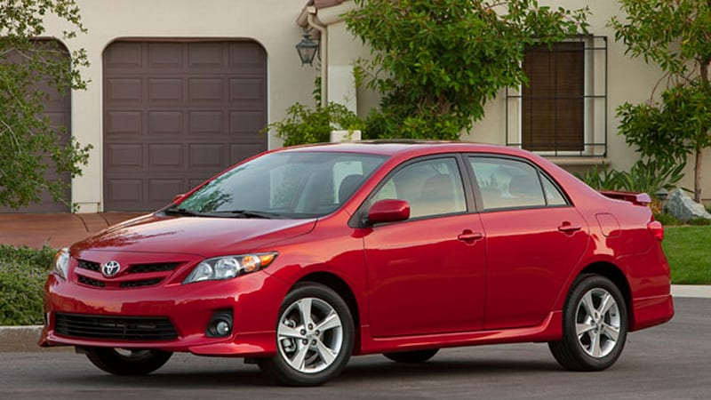 2011 toyota corolla will debut in la with new nose autoblog. Black Bedroom Furniture Sets. Home Design Ideas