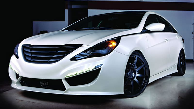 Sema 2010 Rides Magazine Lays Its Hand On The Hyundai Sonata Turbo Autoblog