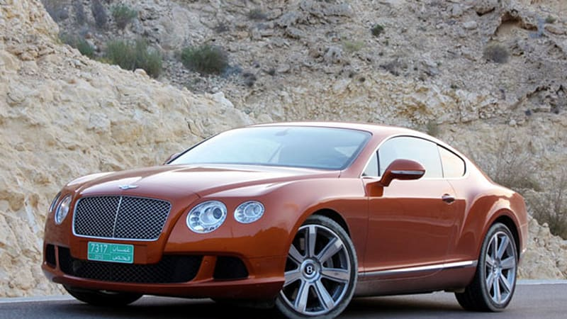First Drive 2011 Bentley Continental Gt Autoblog